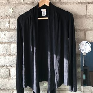 NWOT Rubber Ducky Solid Black Cardigan